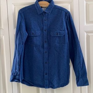 Great Old Navy Super Soft Blue Chamois Shirt S